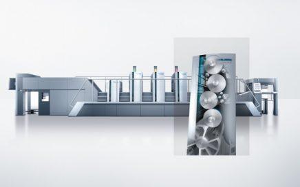 Vue de la machine Heidelberg Speedmaster XL75 Anicolor (Source: Heidelberger Druckmaschinen AG)
